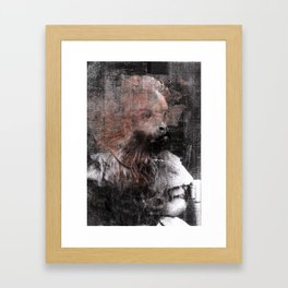 Monkey Child Framed Art Print