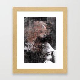 Monkey Child Framed Art Print