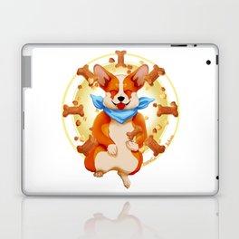 Zen corgi Laptop & iPad Skin