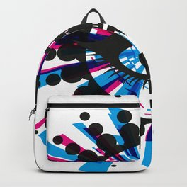 Abstract Eye Focus Backpack