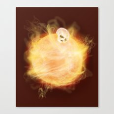 Lost in a Space / Sunlion Canvas Print
