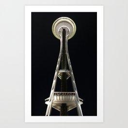 Space Needle Art Print