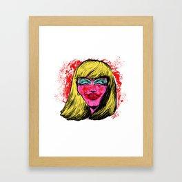 KLLR QWN Framed Art Print