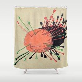 pincushion n. 3 Shower Curtain