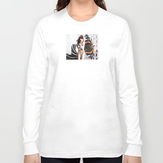 Fleisches Lust 11 - Collage Long Sleeve T-shirt