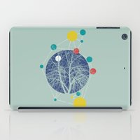 planets iPad Cases featuring Planets by Tamsin Lucie