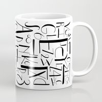 deco Mugs featuring deco. by The Higgins Creative.