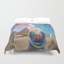Astronauts in the Desert Duvet Cover