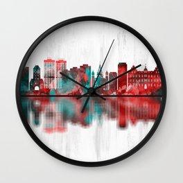 Mainz Germany Skyline Wall Clock