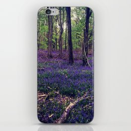 Bluebell Forest iPhone Skin