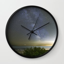 Milkyway at Pebble Beach Wall Clock