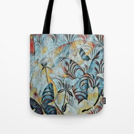A Butterfly Abstract Tote Bag
