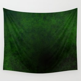 Green with Black Wall Tapestry
