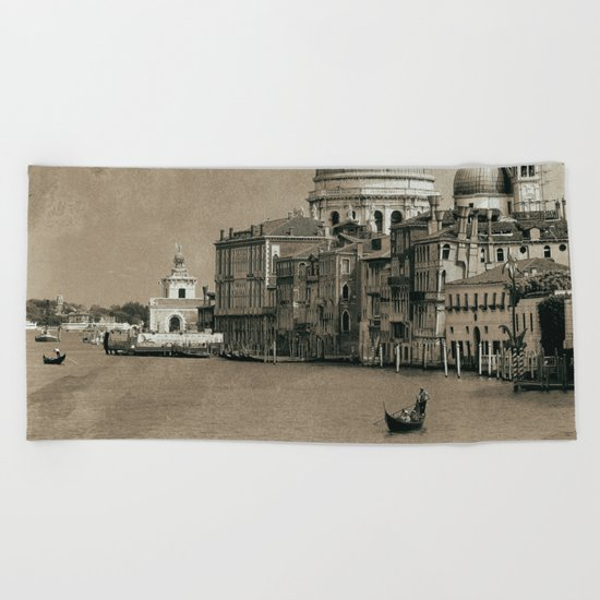 One day in Venice II Beach Towel