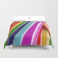 Collecting Rainbows Duvet Cover