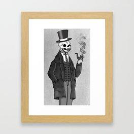 Undead Gentleman Framed Art Print