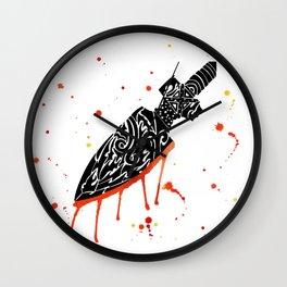 Watercolor Tribal Arrow Wall Clock
