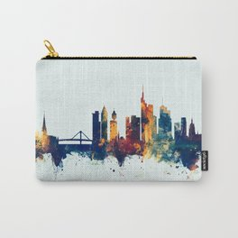 Watercolor art print of the skyline of Munich, Germany (München) Carry-All Pouch