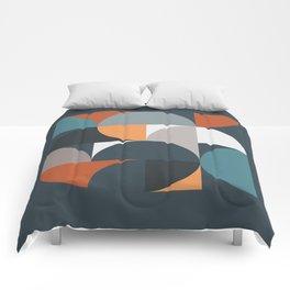 Mid Century Geometric 11/2 Comforters