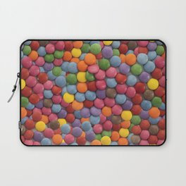 Smarties Milk Chocolate Candy Pattern Laptop Sleeve