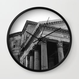 Pantheon IV Wall Clock