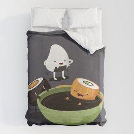 Sushi Bath Duvet Cover