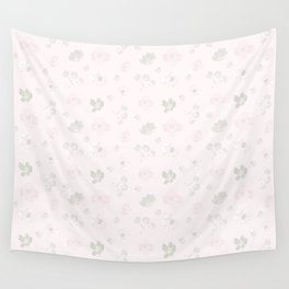 Watercolor Floral Pattern 111-22CW5 Wall Tapestry
