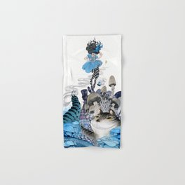 Alice in Wonderland Hand & Bath Towel