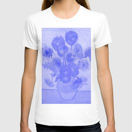 Sunflowers Vincent Van Gogh Japanese Porcelain Concept T-shirt