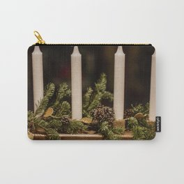 Candles and pine leaves Carry-All Pouch