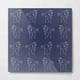 Andalusian Stallion Metal Print