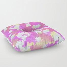 Colourful Squares Floor Pillow