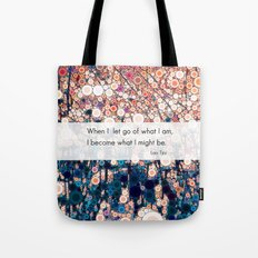Daily Meditation Quote Tote Bag