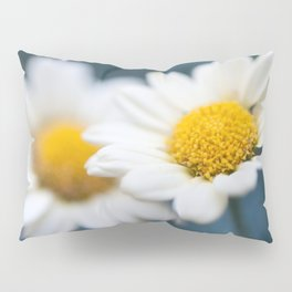 Spring Love #2 - White Marguerite Daisy Flower #decor #art #society6 Pillow Sham