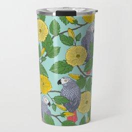 African Greys Travel Mug
