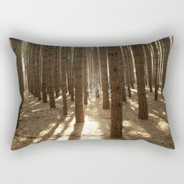Surrounded by Wolves Rectangular Pillow