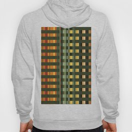 Pattern rectangle color multi I Hoody