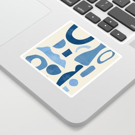 Abstract Shapes 38 Sticker