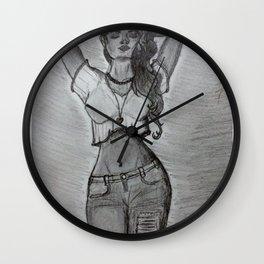 Pose. Wall Clock