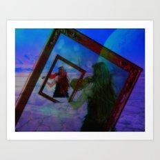 Into the Blue 'Analog Zine' Art Print