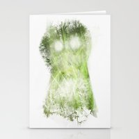 vegetable Stationery Cards featuring phantom vegetable by nosnop
