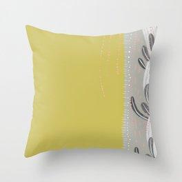 flora 3 Throw Pillow