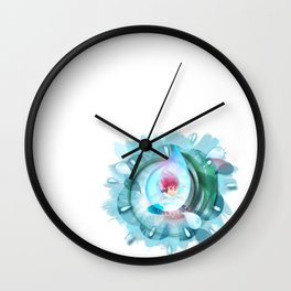 Count to 3 Wall Clock