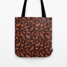 Fox dark Tote Bag