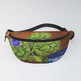 Teacup with Artichokes Fanny Pack