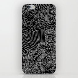 tiny lines iPhone Skin