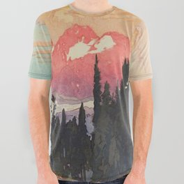 Storms over Keiisino All Over Graphic Tee