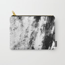 Perseverance Black & White Carry-All Pouch