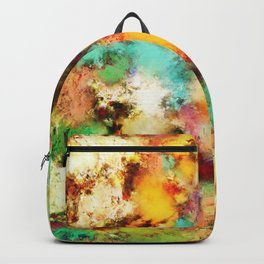 A distorted impact Backpack