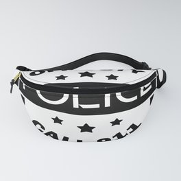 Policeman Gift Idea Fanny Pack